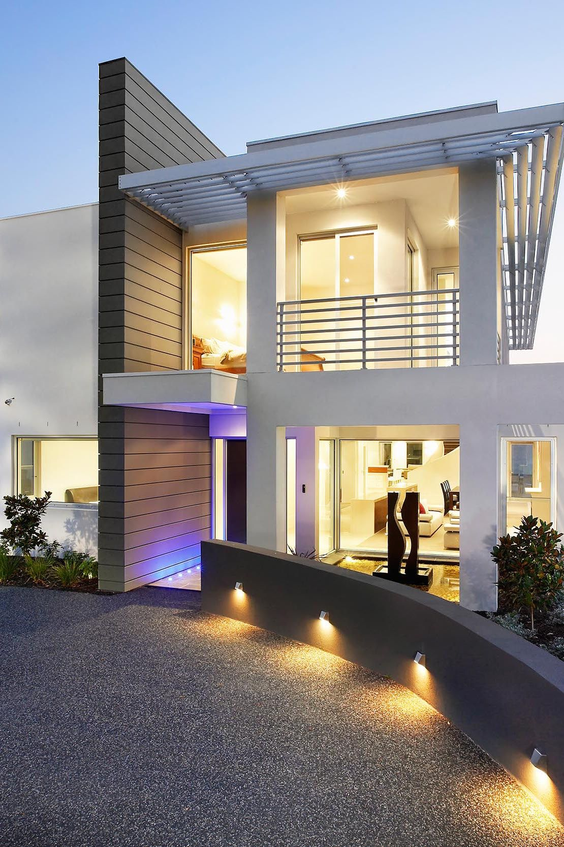 Photo escala arquitectura casas casas modernas y for Casas modernas interior y exterior