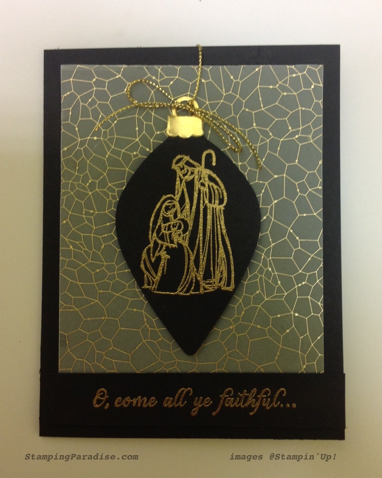 stampin up All Ye faithful cards pinterest - Google Search