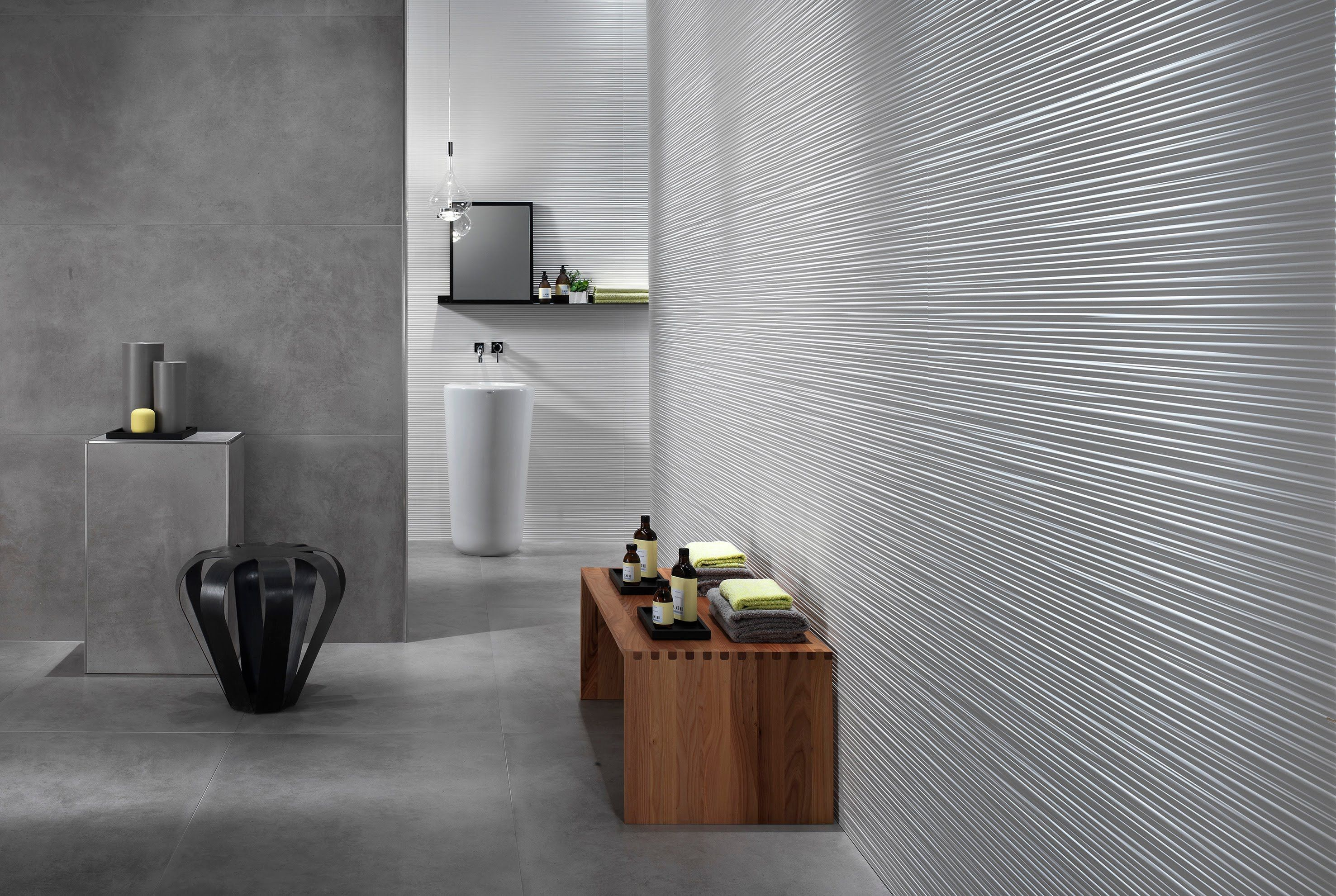 3d Wall Design Line Continous And Defined Lines To Plan Feature Walls Wall Cladding Wall Design Indoor Tile