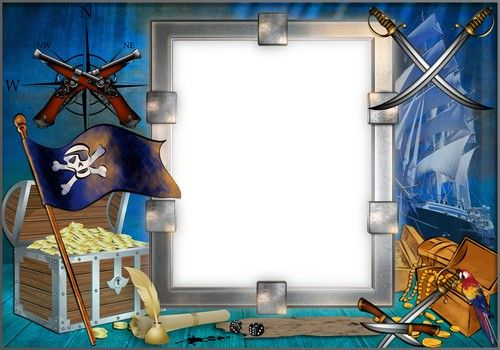 1462381476_frame-children-treasure-pirate.jpg (500×350) | frame ...