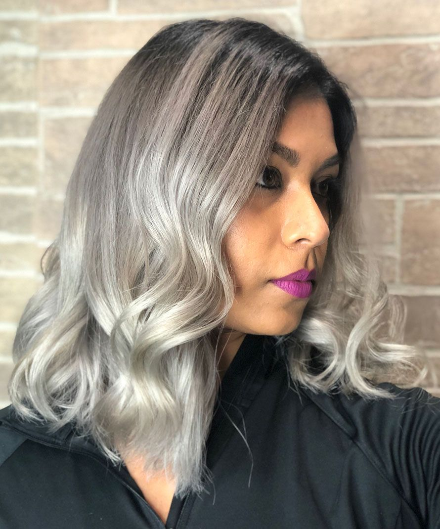 Super Natural Shades Of GreyAmazing Colors   Magical Hair