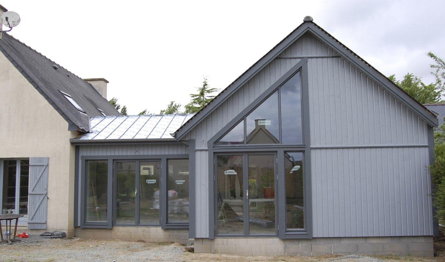 extension tr s bien isol e en ossature bois 48 m2 par hemma construction astuces maison. Black Bedroom Furniture Sets. Home Design Ideas