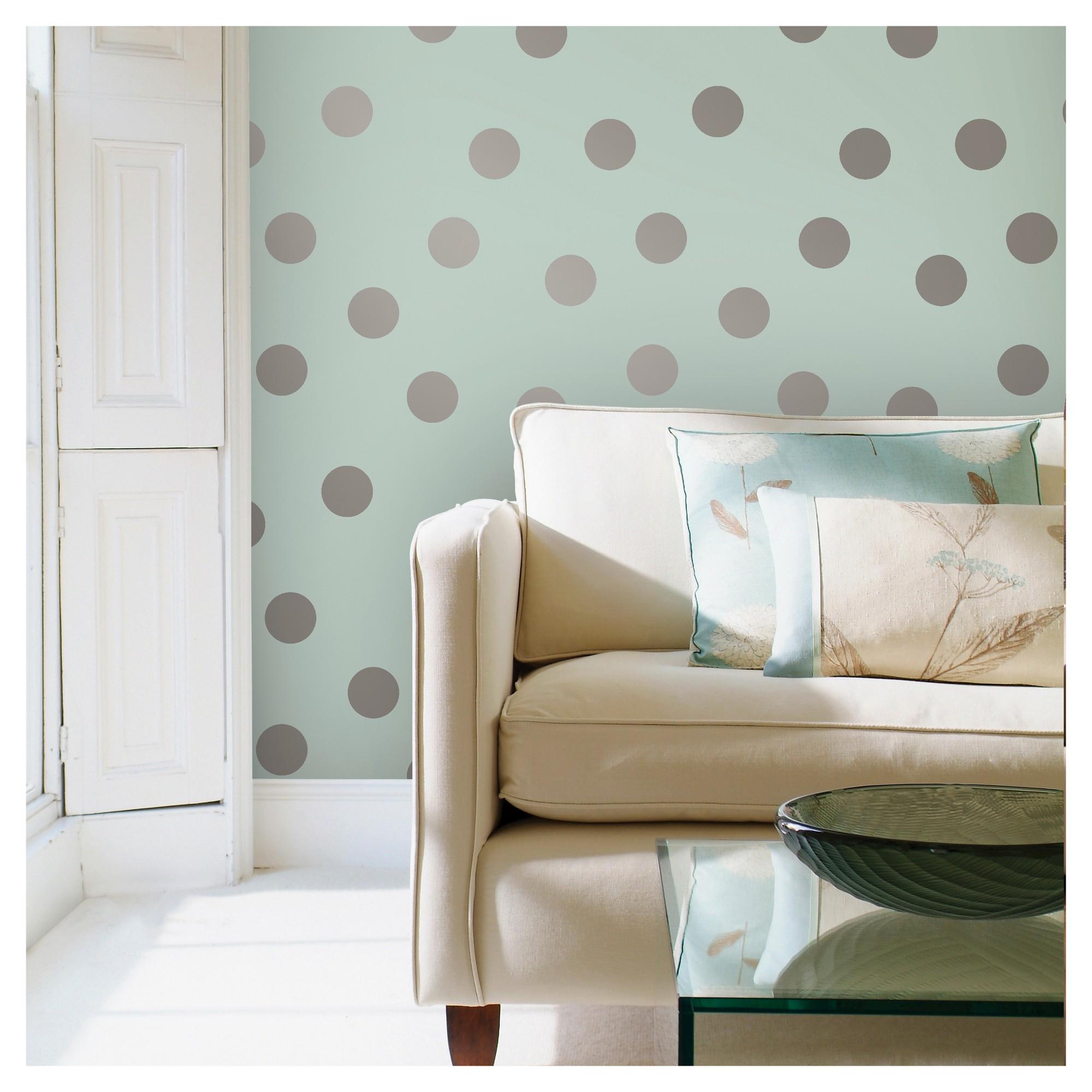 Devine Color Dots Peel Stick Wallpaper Horizon And Sterling Peel And Stick Wallpaper Turn Table Vinyl Removable Wallpaper