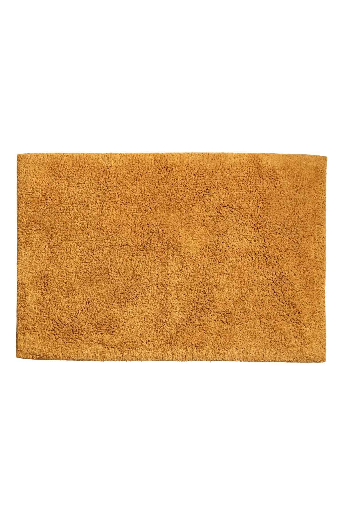 Mustard Yellow Bath Mat In Thick Cotton Terry With Tape Trim Non Slip Protection At Back Not For Use On Heated Surfa Yellow Bath Mats Colorful Bath Bath Mat