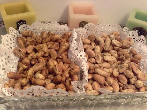 Cacahuete Salee كاوكاو مكرمل طريقة تحضير الفول السوداني المملح والمقرمش بطريقتين Youtube Food And Drink Peanut Food