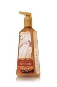 Creamy Pumpkin Deep Cleansing Hand Soap Anti Bacterial Bath