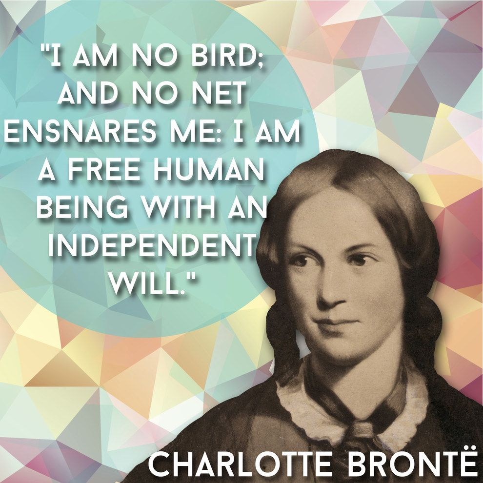Charlotte Bronte Inspirational Quotes