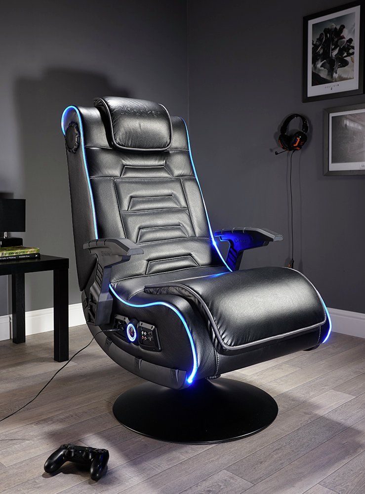 Buy x rocker evo pro 21 audio neo fibre led gaming chair