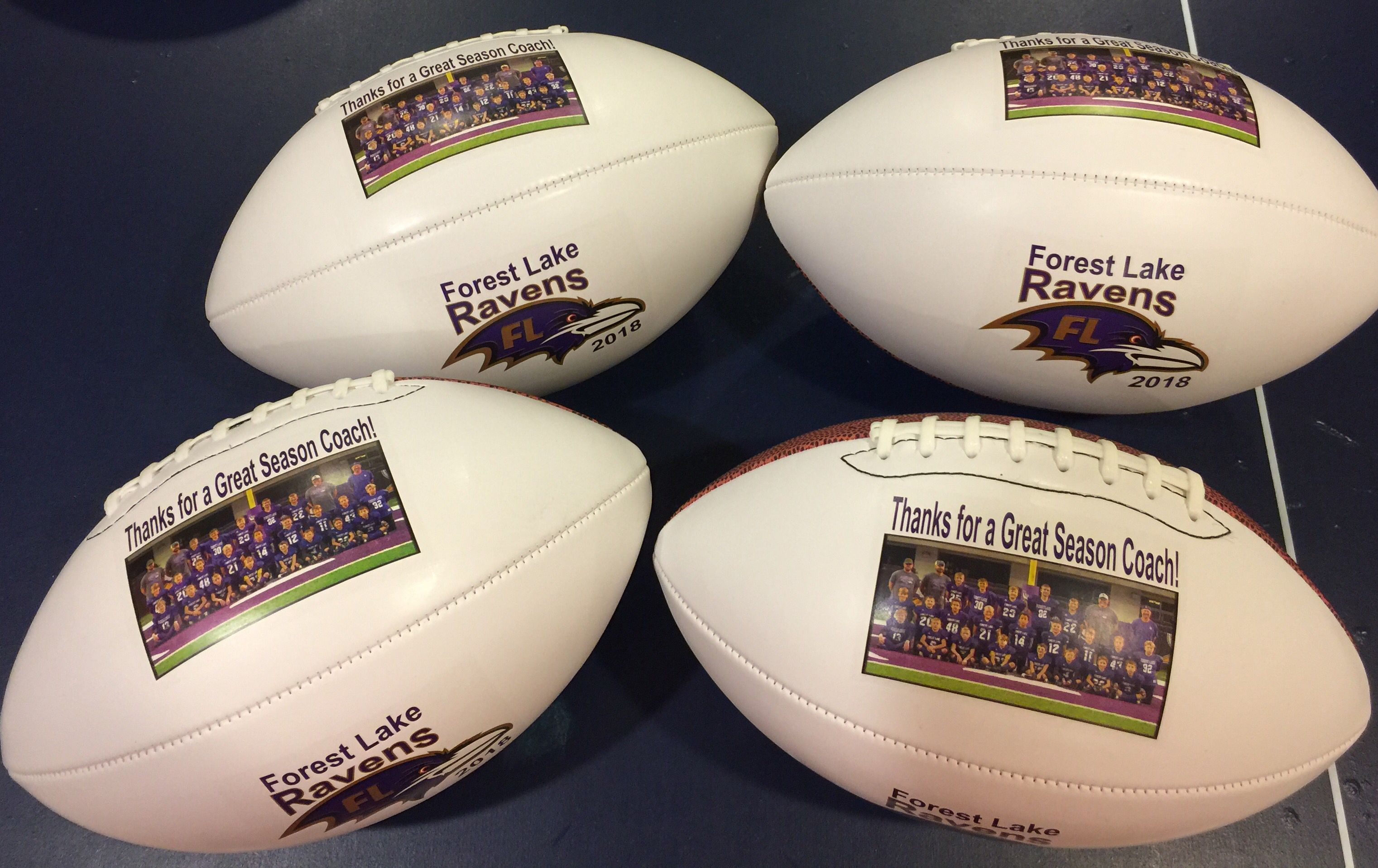 d29a5704a What a fantastic gift for the coaches and players! Have the players sign  them to personalize even more!  football  coachgift  getontheballphotos