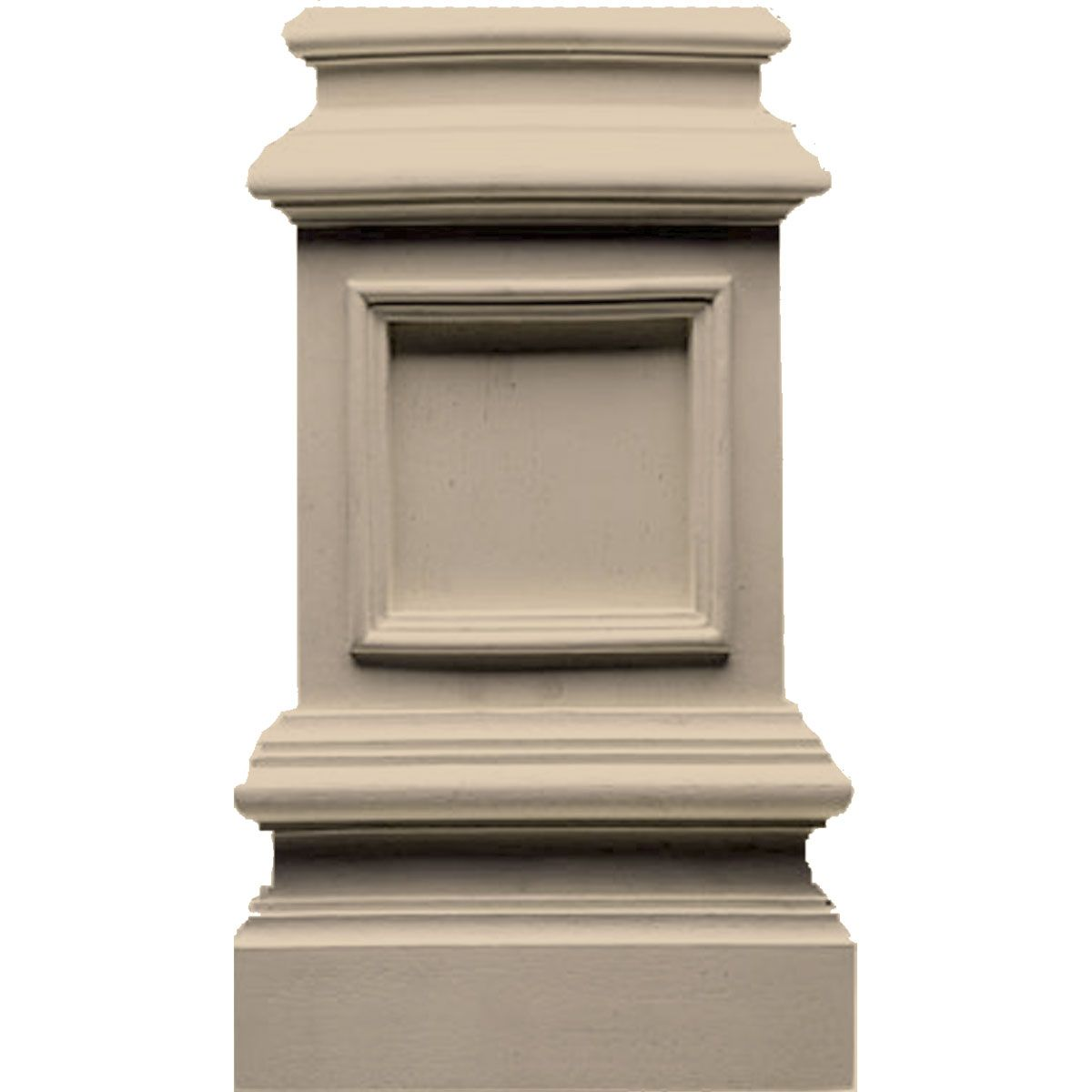 Approx 13 1 4 Inch Bottom 7 1 2 Inch W X 2 1 2 Inch D Sized For Use With 4 1 2 Inch Wide Columns Plinth Blocks Moldings And Trim Wood Pedestal