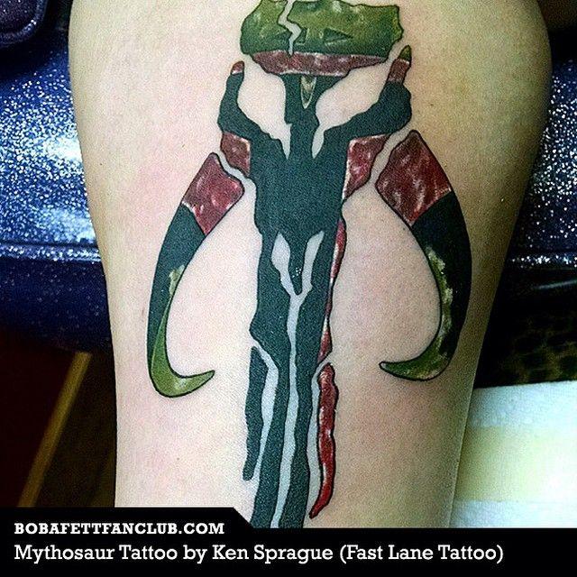 boba fett leg tattoo - Google Search