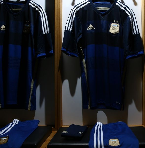 New Argentina Away World Cup 2014 Jersey from FlagWigs.com  a41a3a946