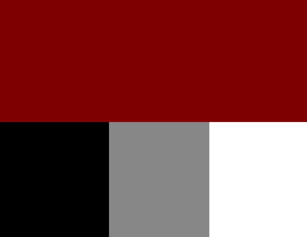Corporate color swatch reds black white grey