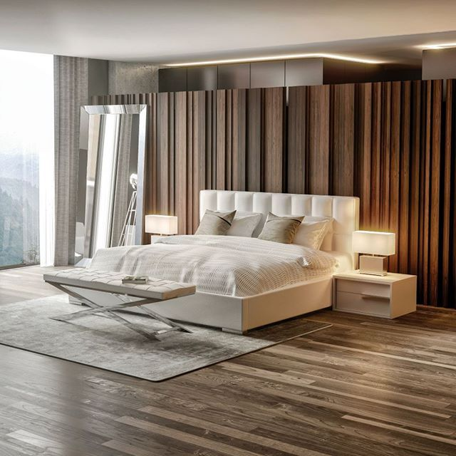 Best Movido Bed White In 2020 Home Room Design Modern 400 x 300