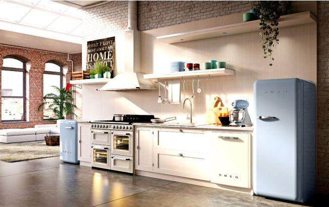 Dunstabzugshaube Landhausstil fab retro küchengeräte smeg kochfelder dunstabzugshauben