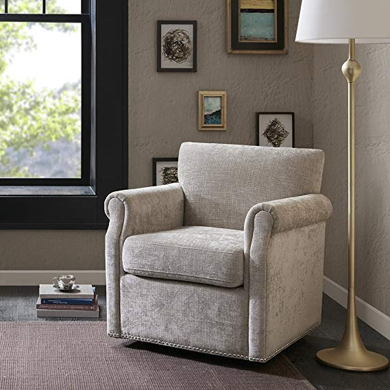 Madison Park MP1030235 Aldrich Swivel Chair
