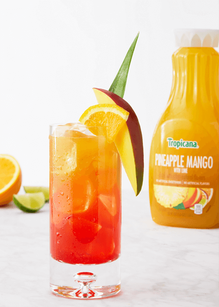 Tequila Sunset Recipe In 2020 Sunset Cocktail Recipe