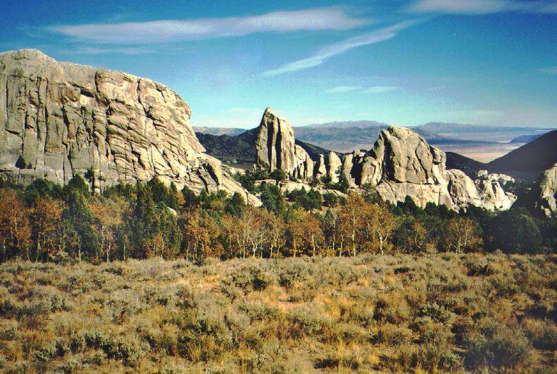 City of Rocks National Reserve, Idaho