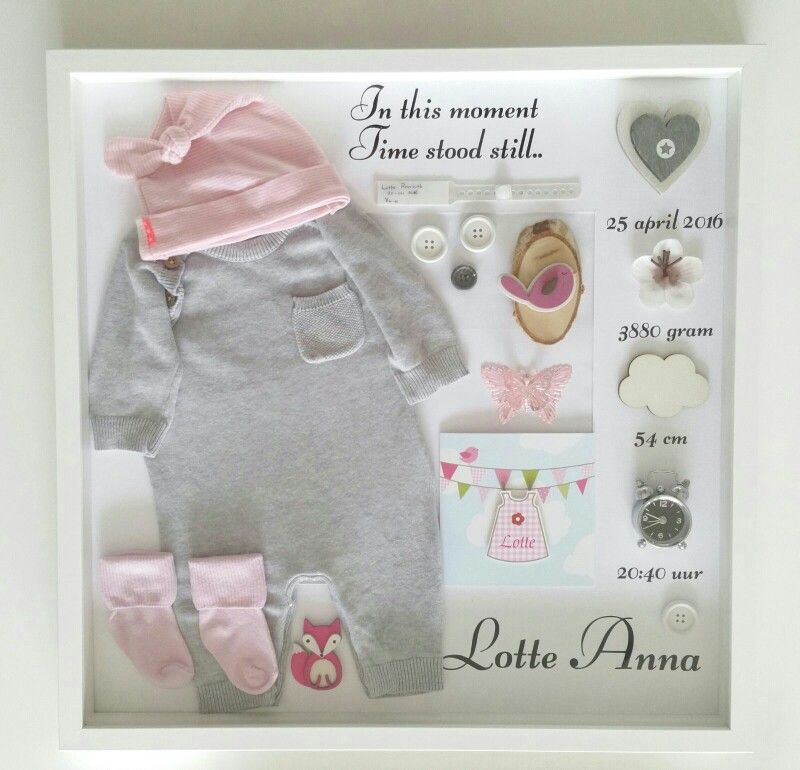 babykleding eerste pakje
