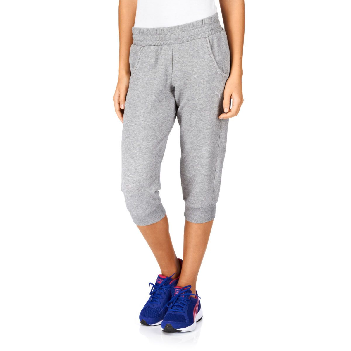 Puma Capri Sweat Pants - Athletic Grey Heather | Rey Star Wars ...