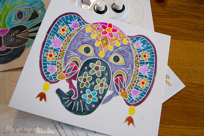 Masques Aquarellum Elephant Animal Deguisements