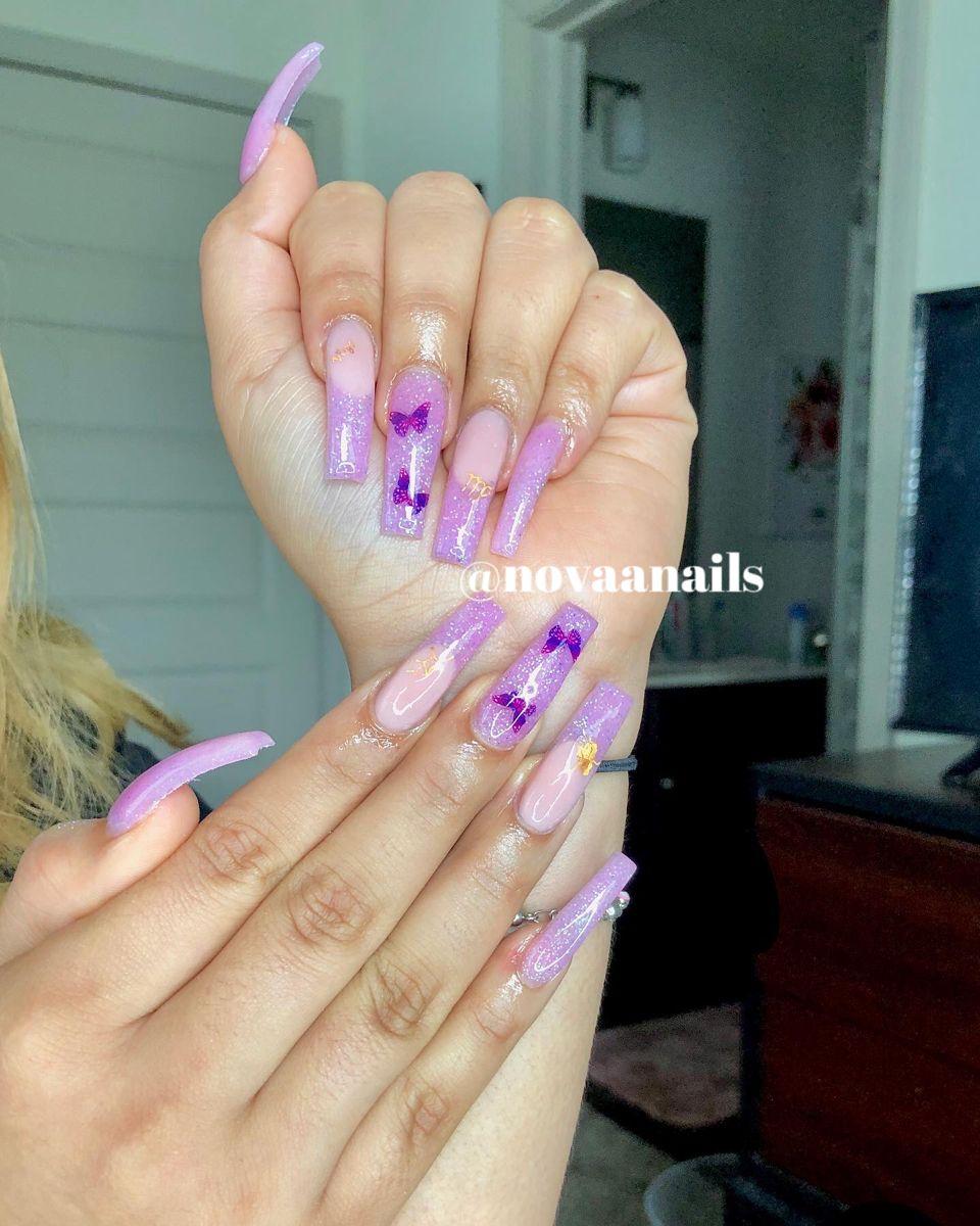 Nova Nails By Camryn C Novaanails Instagram Photos And Videos Nova Nails Nails Glitter Nails