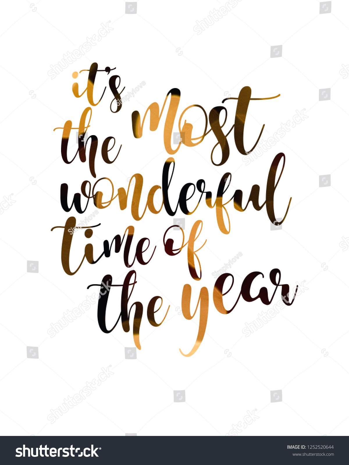 it s the most wonderful time of the year quotes christmas sign