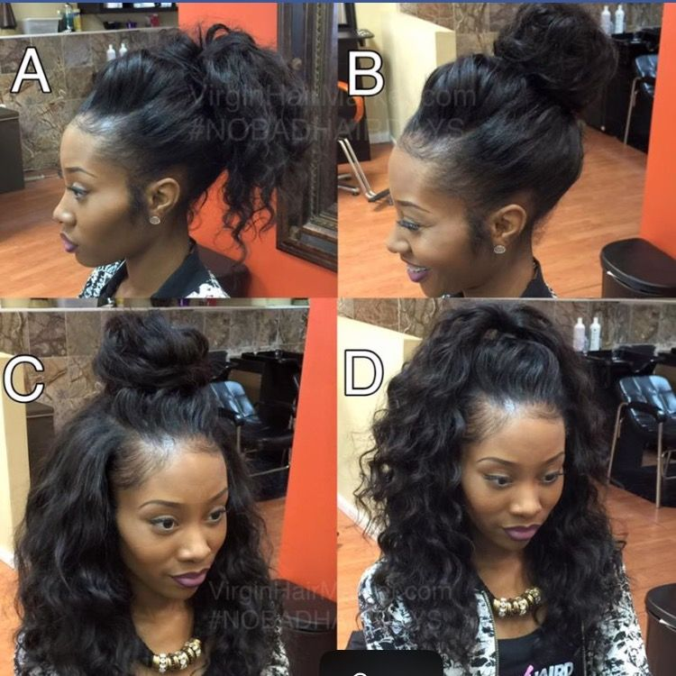 Versatile Sew In Black Hairstyles Pinterest Wig Hair Style