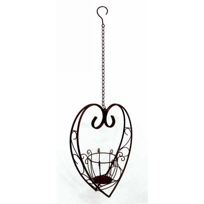Hanging Heart Planter   Garden Decor   Bliss Garden And Giftware Online  Store