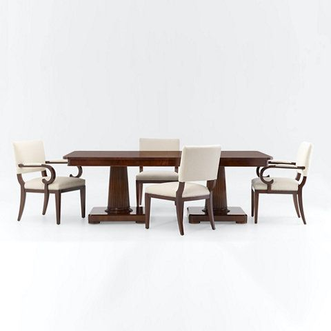 Mayfair Double Pedestal Dining Table Dining Tables Furniture