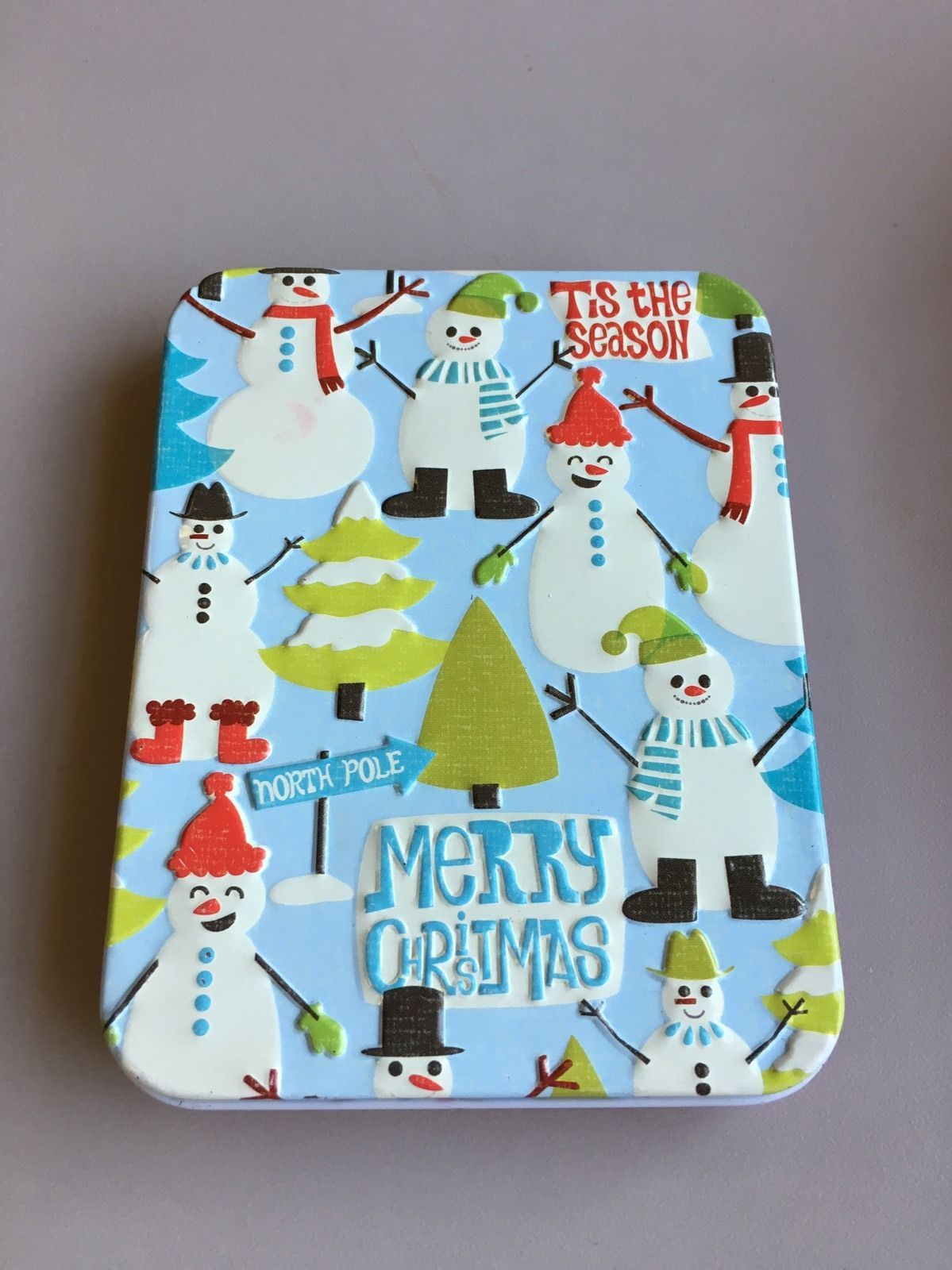 iTunes Gift Card 20 With Merry Christmas Tin Gift Box