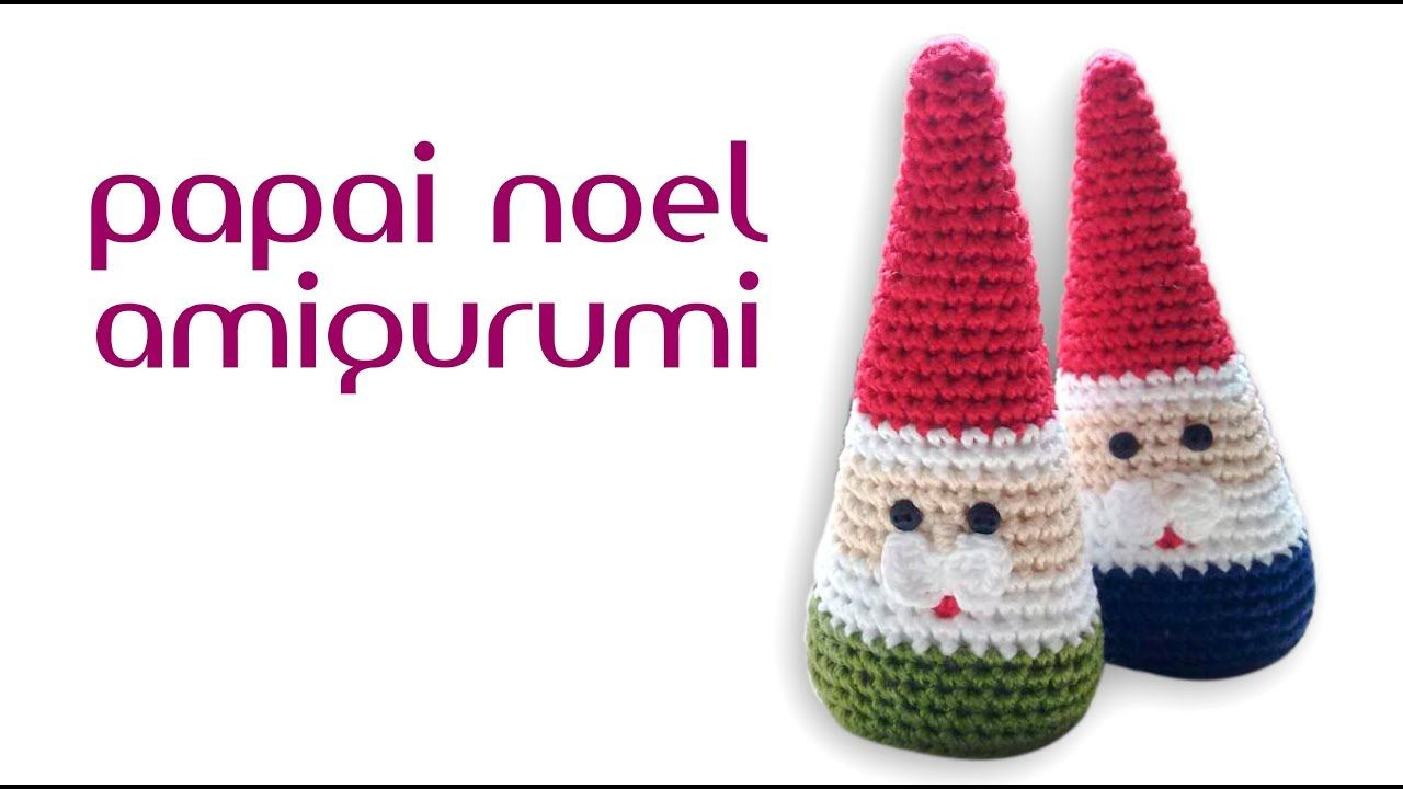 Papai noel amigurumi (crochê) | NAVIDAD | Pinterest | Navidad