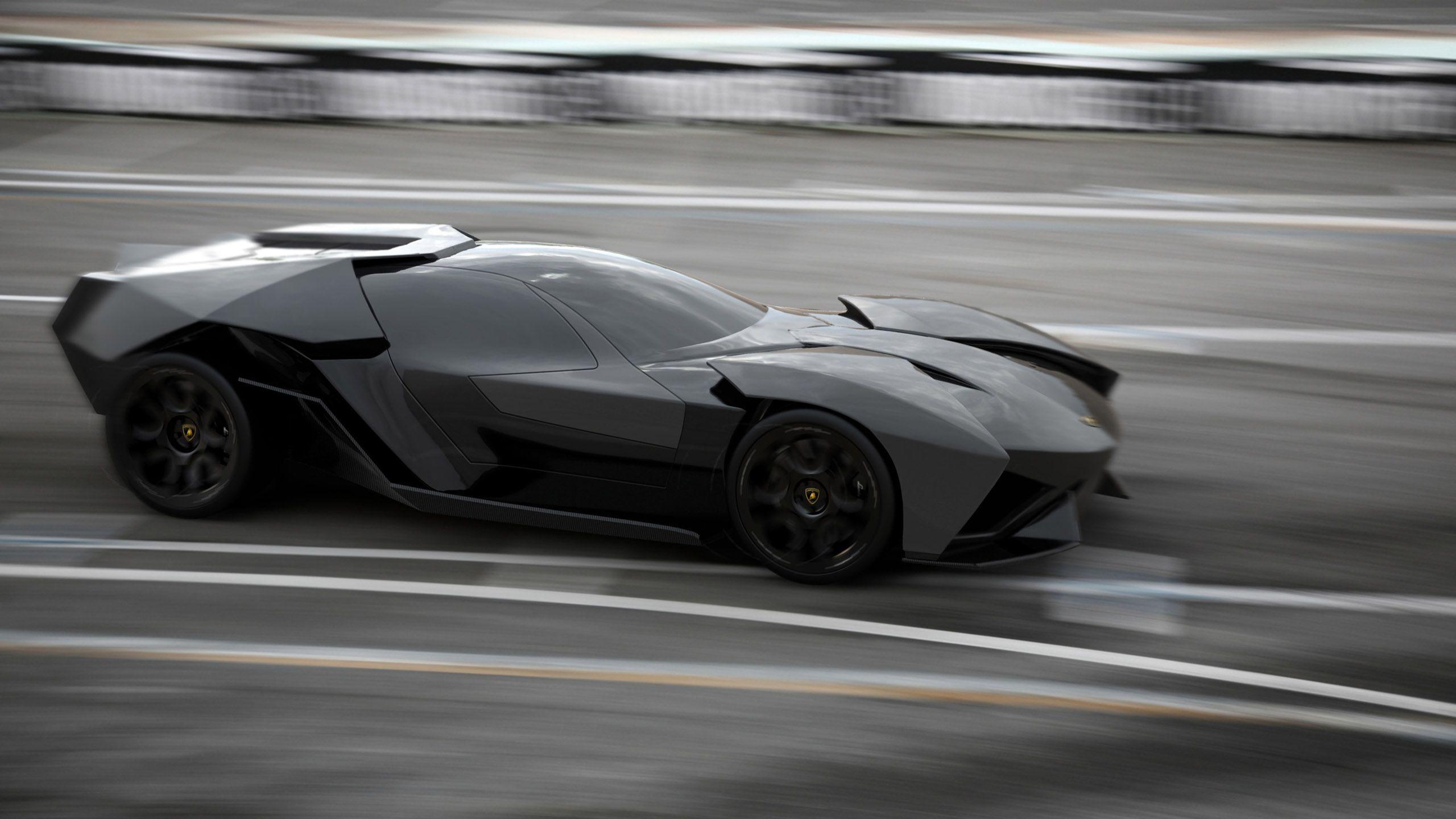 Lamborghini ankonian concept interior lamborghini - German Student Presents 2016 Lamborghini Ankonian Concept