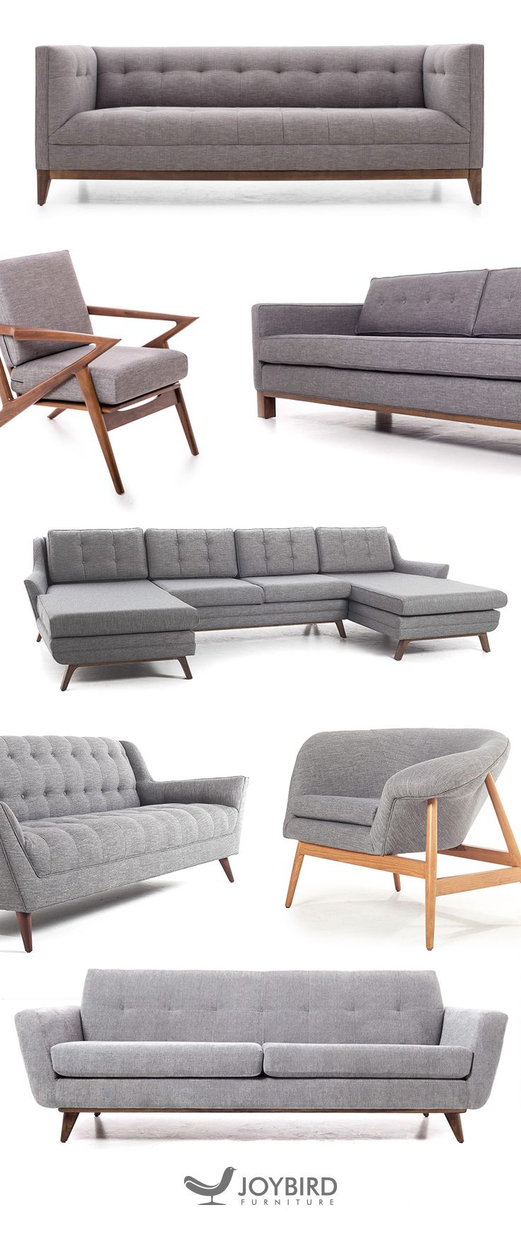Get premium quality furniture made just for you with Joybird. With ...
