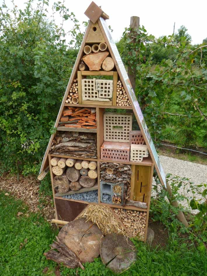 h tel insecte h tel insectes bugs house pinterest insectes jardins et affiches r tro. Black Bedroom Furniture Sets. Home Design Ideas