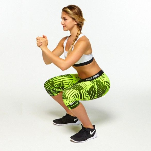 Here's how many squats you should do for a bigger butt