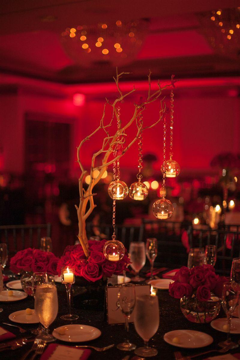 black red wedding centerpieces tablescape pinterest red wedding. Black Bedroom Furniture Sets. Home Design Ideas