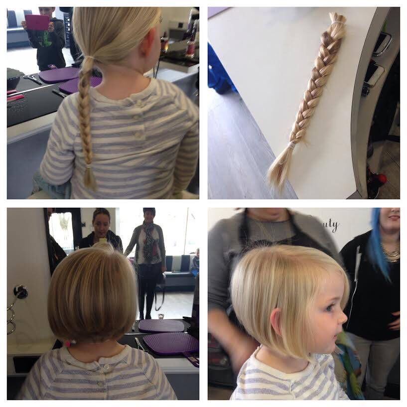 A 3 Year Old Girl Donated Her Hair After Hearing Of Another Child S Plight At Her Nursery 3 Little Girl Haircuts Toddler Haircuts Girl Haircuts