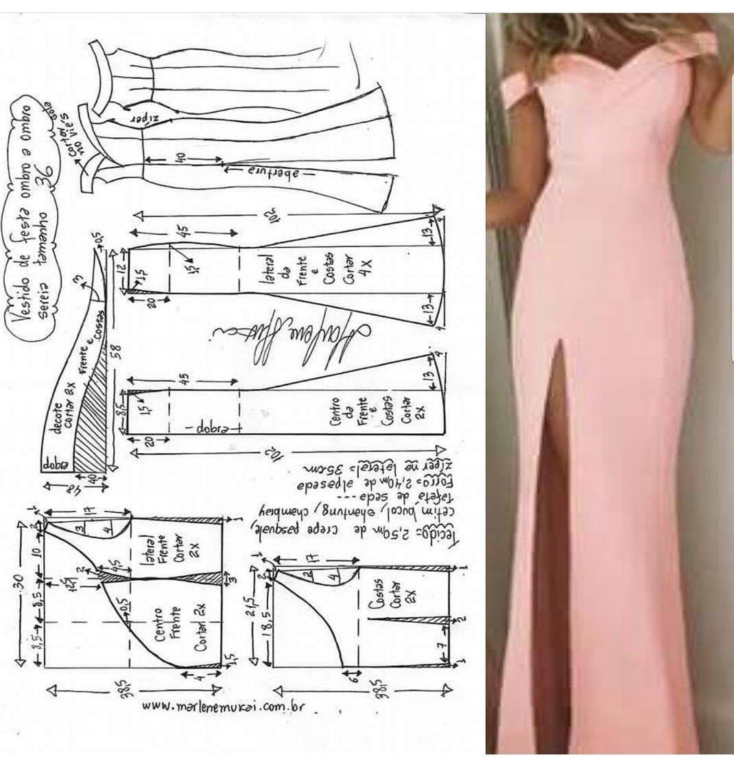 Pin de Gislene Assumpção en costurando | Pinterest | Patrones ...