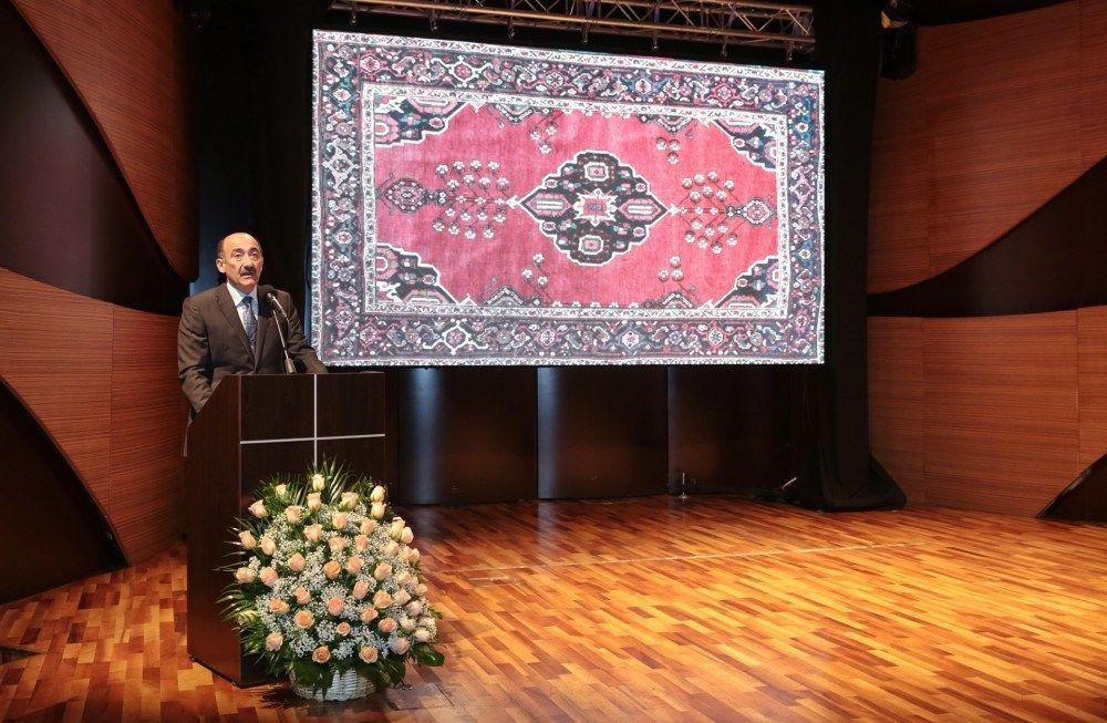Bakida V Beynəlxalq Azərbaycan Xalcasi Simpoziumunun Acilisi Olub Frame Az Home Decor Decor Frame