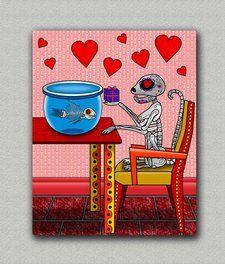 Amor Prohibido Chrome print