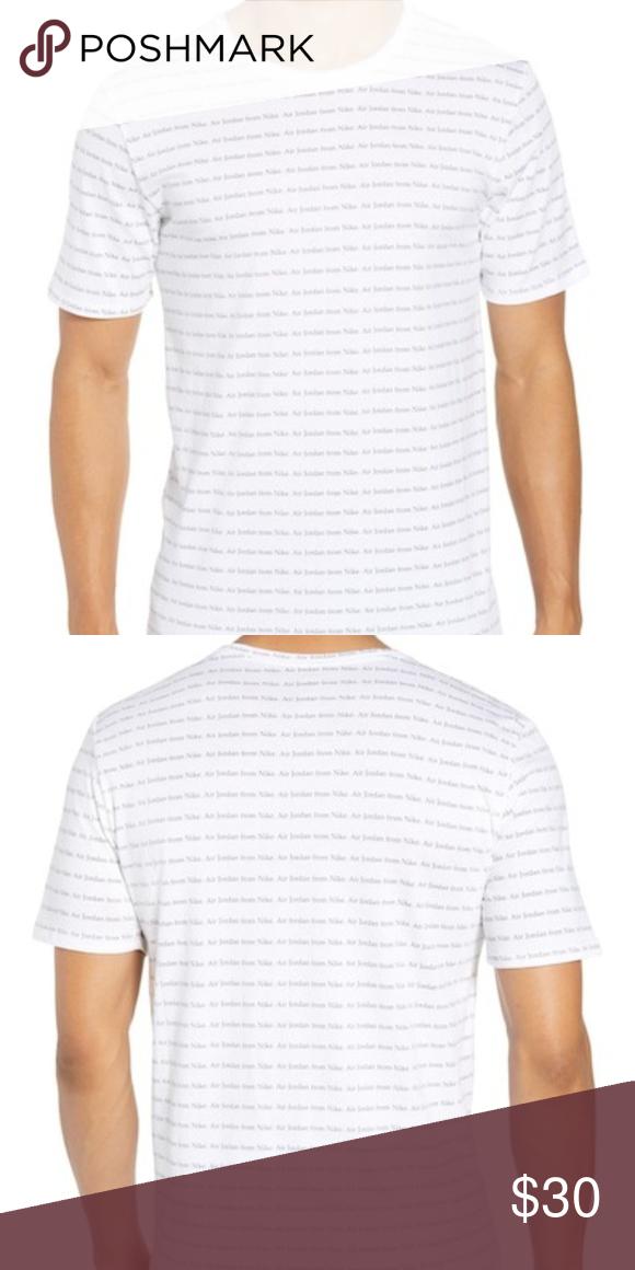 3ed1f5b943a693 Jordan All Over Print Tshirt Jumpman Crew neck tee Air Jordan from Nike all  over print 100% Cotton Tee Jordan Shirts