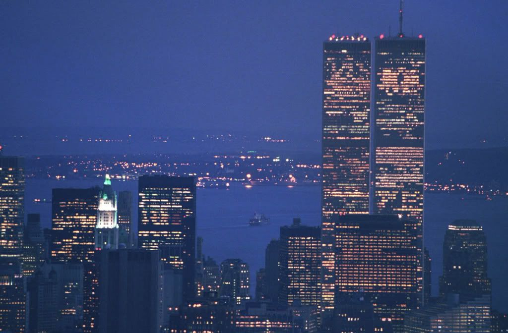 The last evening and night of the towers September 10, 2001   WTC