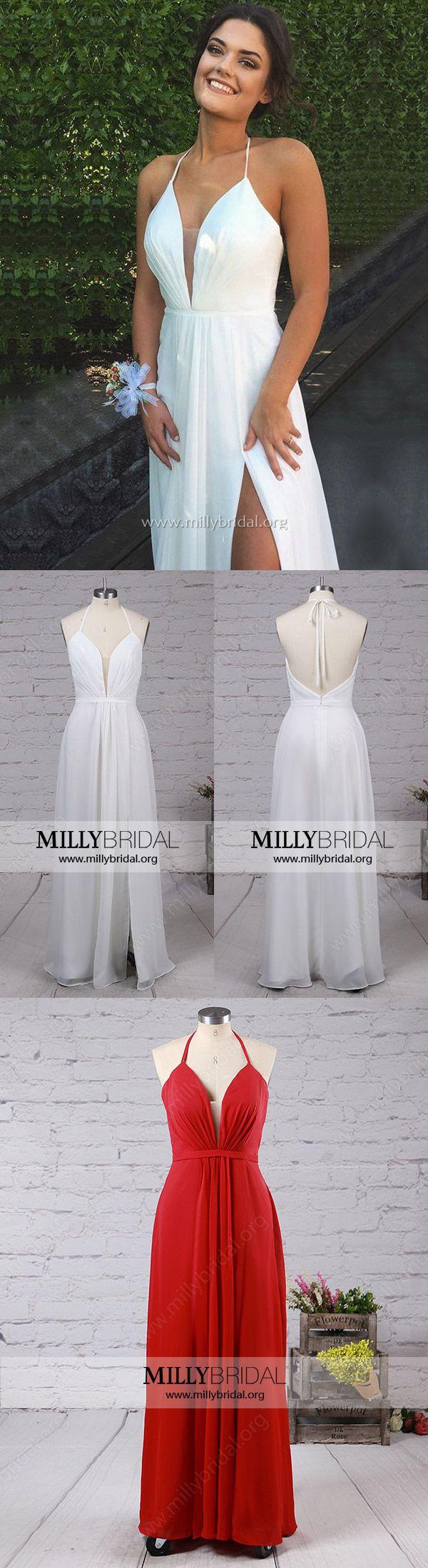 White prom dressesaline prom dresses for teens prom dresses v