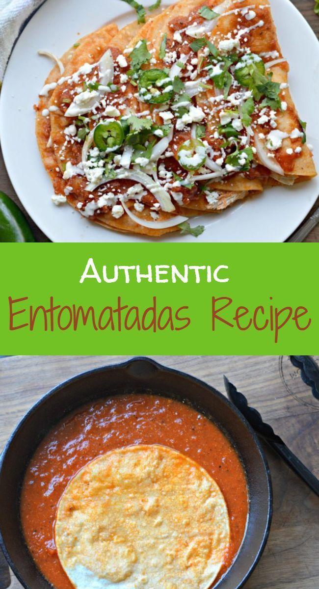 Authentisches mexikanisches Entomatadas-Rezept mit Huhn - meine Latina-Tabelle - New Ideas #mexicanrecipeswithchicken