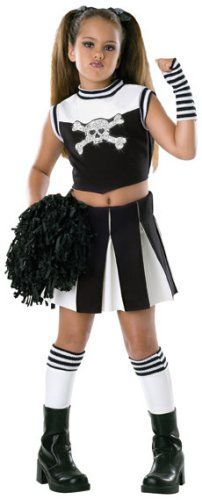 Child's Bad Spirit Cheerleader Costume Size Medium (8-10) Rubie's ...