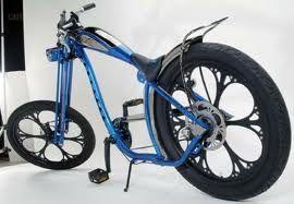 Harley Chopper Mooi Wielen Chopper Moto Bicicletas Legais E