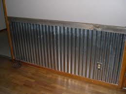 What A Great Idea Corrugated Steel Instead Of Bead Board Staal Meubels Pallet