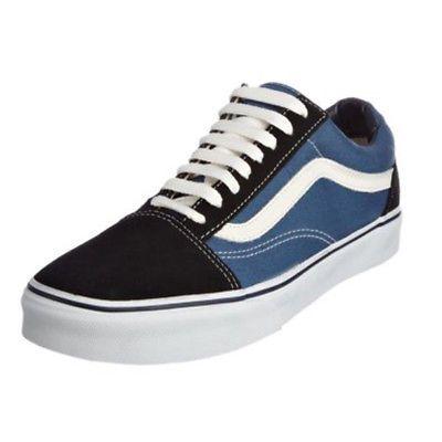 blue old skool vans ebay