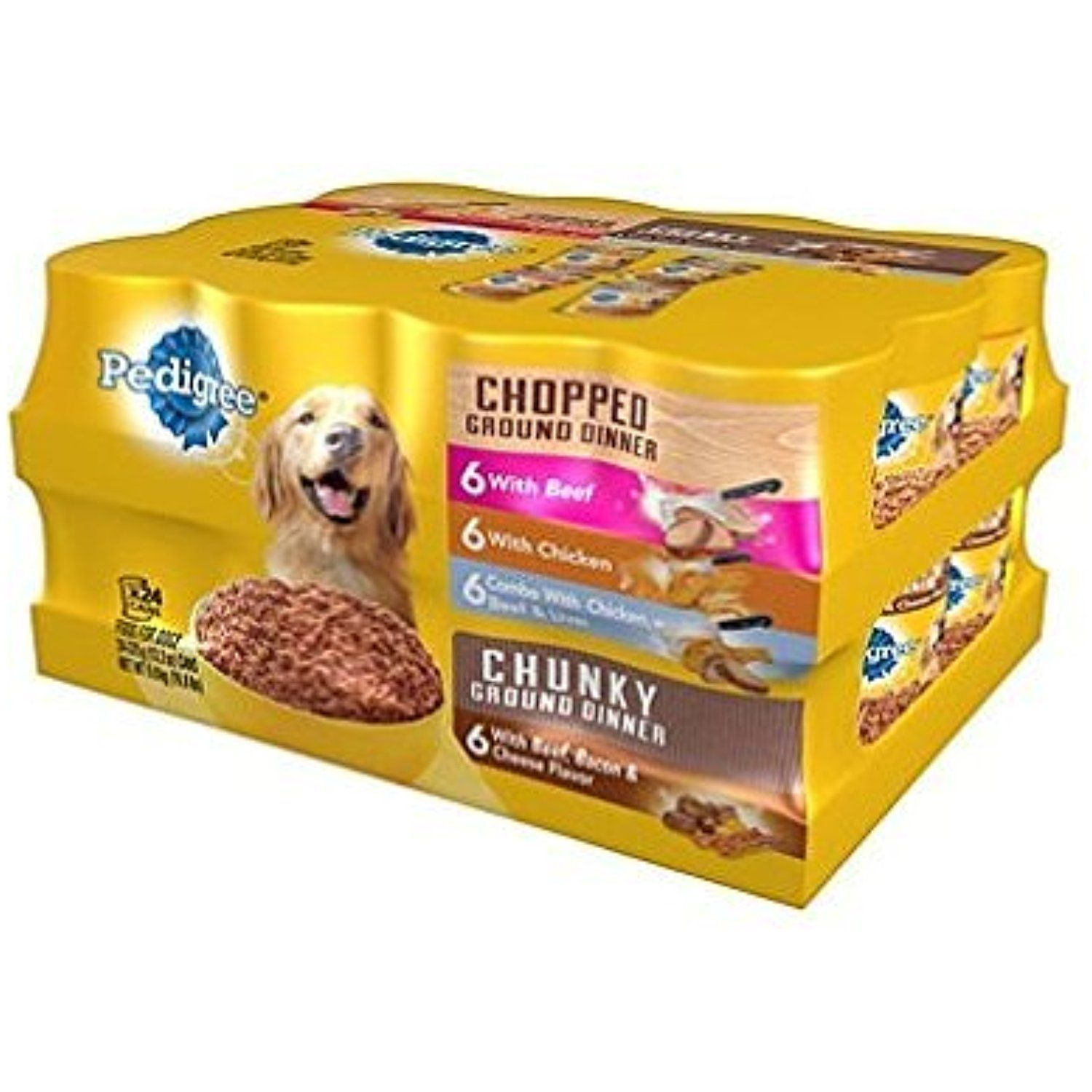 canned puppy food pedigree
